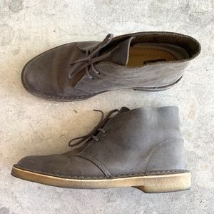 Clarks Original Leather Wallabees Chukka Boots